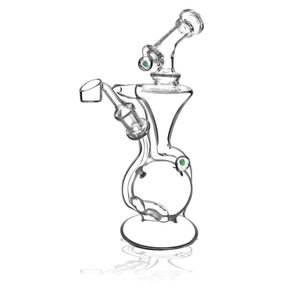 Pulsar Opal Marble Recycler Dab Rig | 9.5 Inch