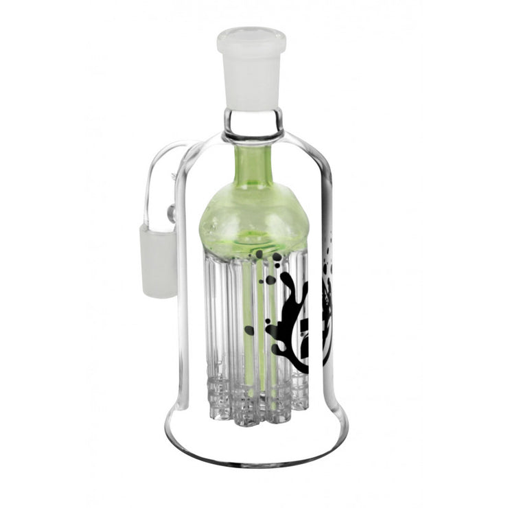 Pulsar 8 Arm Ash Catcher - 14mm or 19mm Male / Slime Green