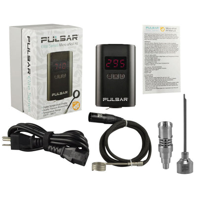 Pulsar Elite Series - Micro eNail Kit w/ Carb Cap