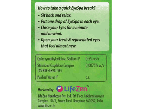 EYESPA EYE DROPS FOR DRY AND RED EYES