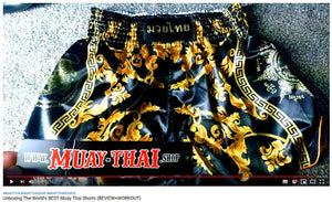 Motivation Man reviews our Muay Thai Shorts