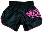 muay thai shorts pink