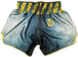 Muay Thai Shorts Warning Offensive