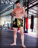 Muay Thai Shorts gold