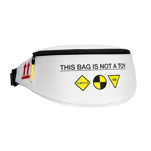 ATD Belt Bag White/Yellow