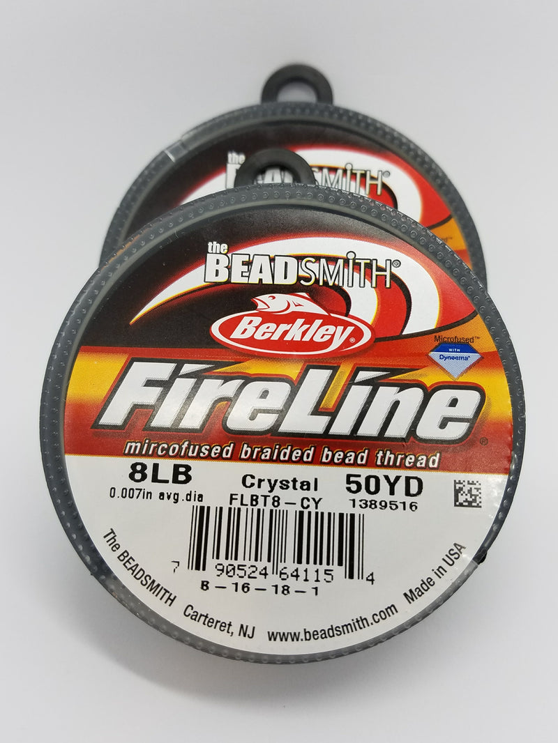 Fireline Braided Bead Thread - Crystal
