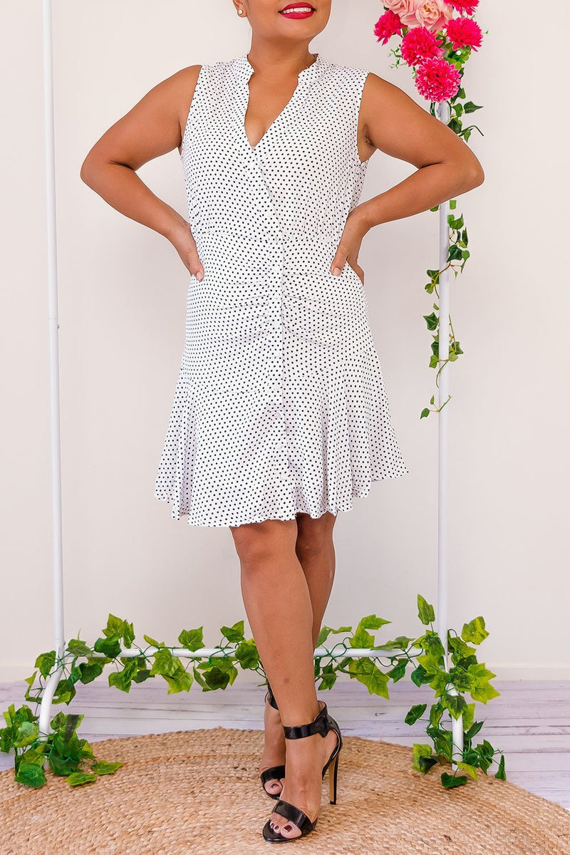 SOPHIA POLKA DOT DRESS - Two Sisters Instyle