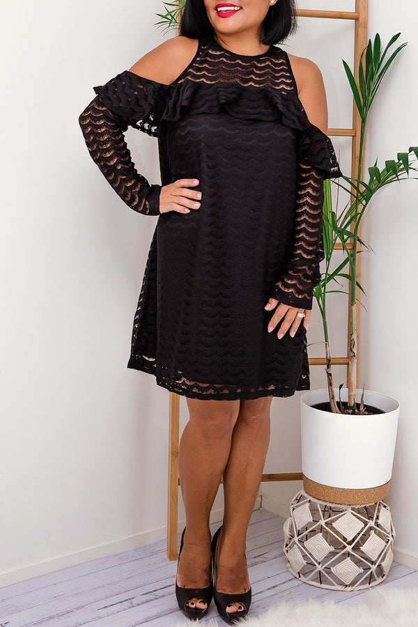 JESSIE DRESS -BLACK - Two Sisters Instyle