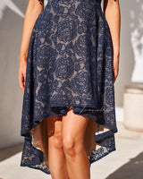 MEGAN DRESS-NAVY - Two Sisters Instyle