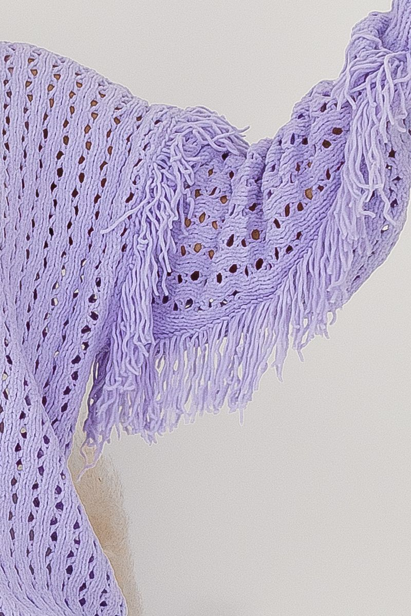 AMALIE KNIT - LILAC - Two Sisters Instyle