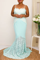 ANJELICA DRESS -MINT - Two Sisters Instyle