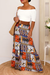 CARLA MAXI PRINT SKIRT - Two Sisters Instyle