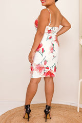 CATALINA DRESS - RED - Two Sisters Instyle