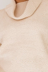 CALISTA KNIT TOP - BEIGE - Two Sisters Instyle