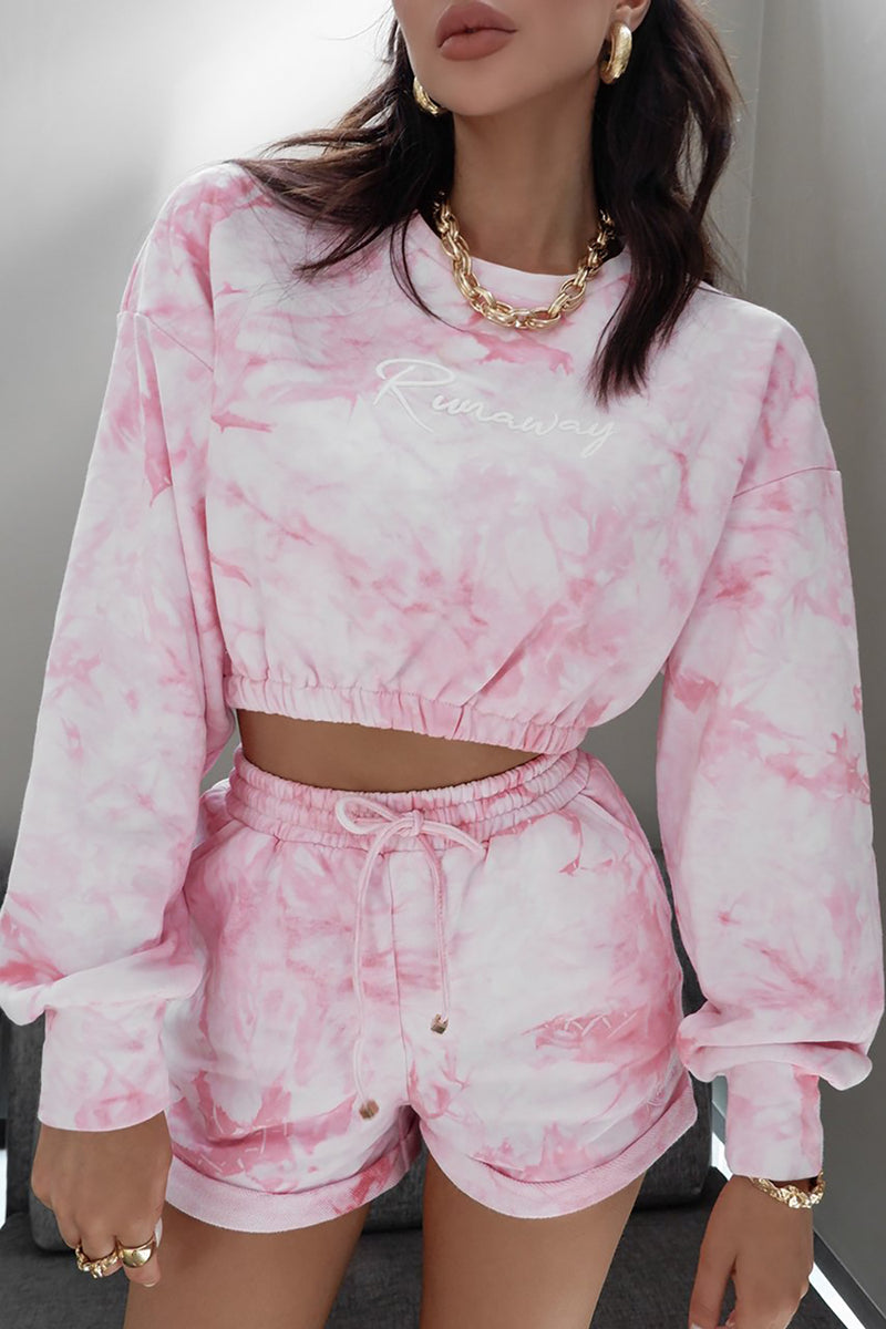 DENISE TOP - PINK TIE DYE I Two Sisters Instyle