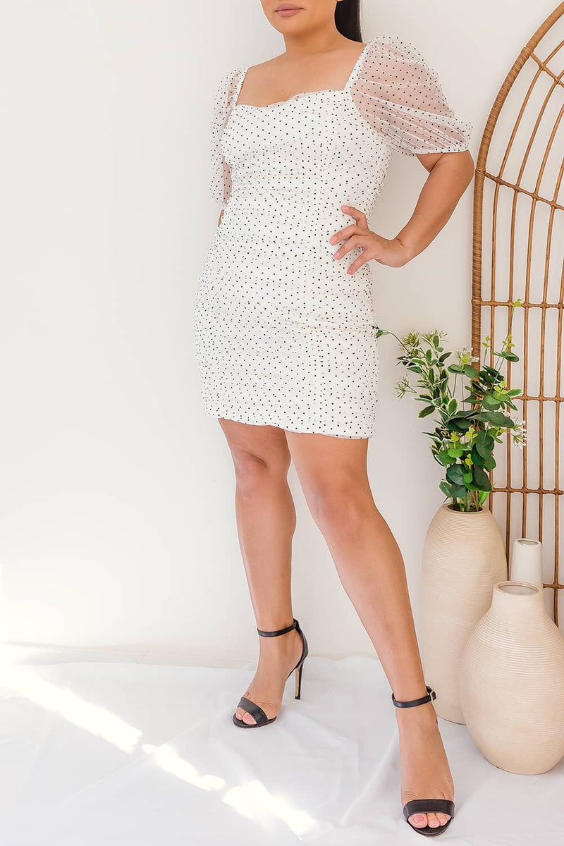 HANNAH POLKA DOT DRESS I Two Sisters Instyle