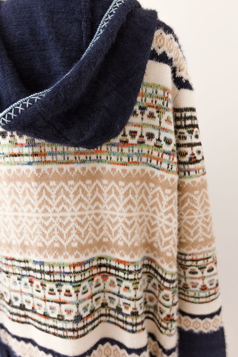 LANA KNIT CARDIGAN - NAVY - Two Sisters Instyle