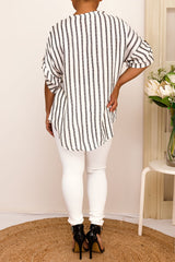 ALYCE STRIPED TOP - Two Sisters Instyle