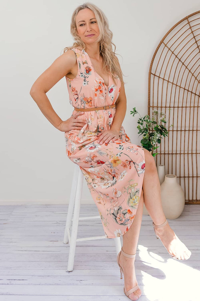 PHOEBE FLORAL DRESS - Two Sisters Instyle