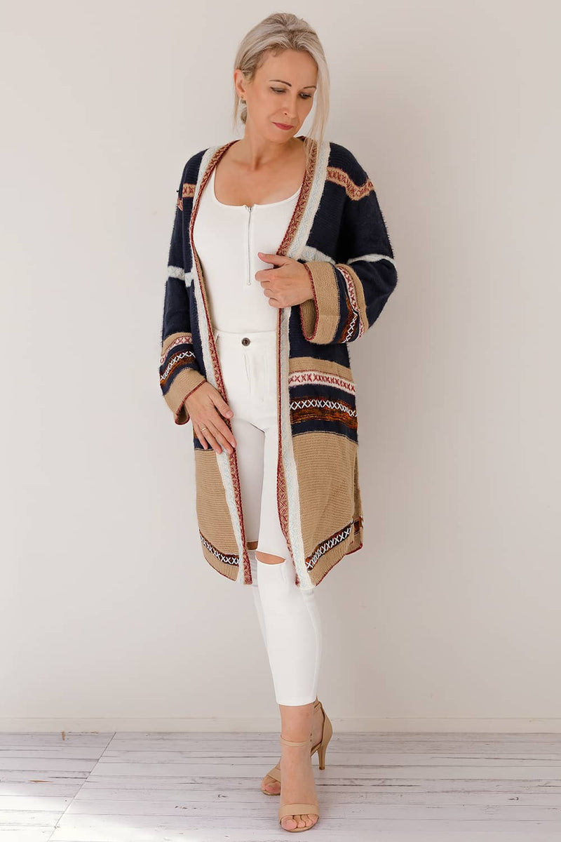 boho cardigan long sleeve