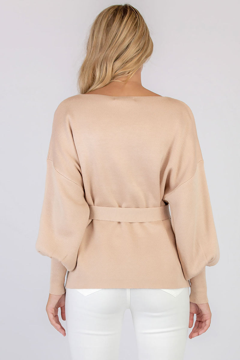 WILLA KNIT JUMPER - CAMEL - Two Sisters Instyle