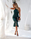 SONIA DRESS - EMERALD GREEN - Two Sisters Instyle