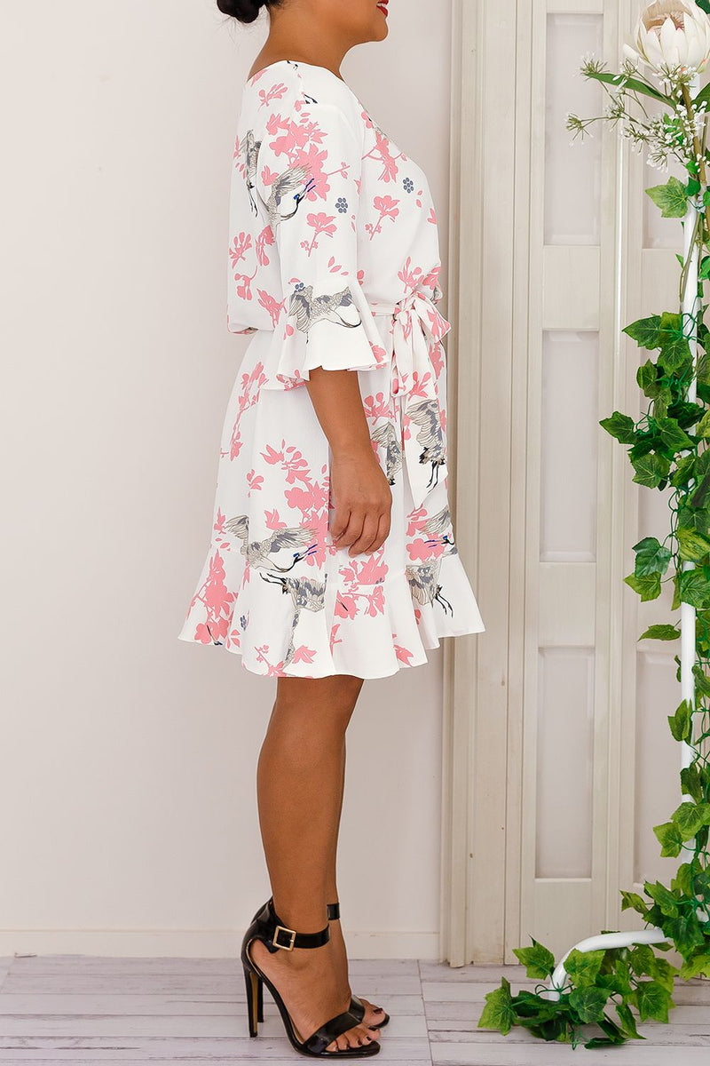 TULLIA DRESS -PINK