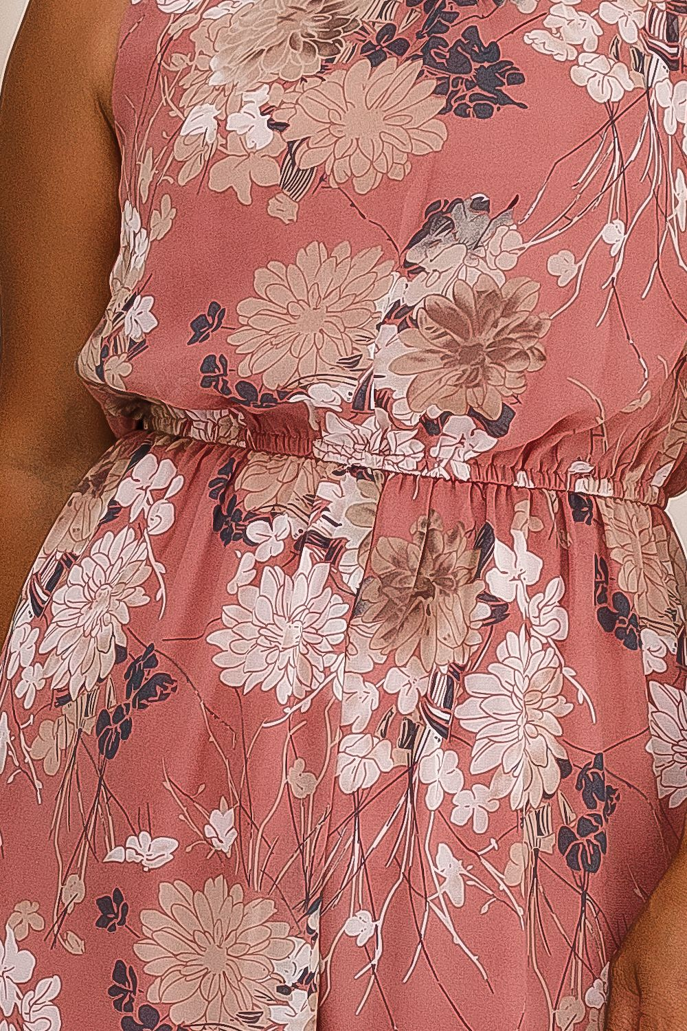 SKYLA FLORAL JUMPSUIT-PINK - Two Sisters Instyle