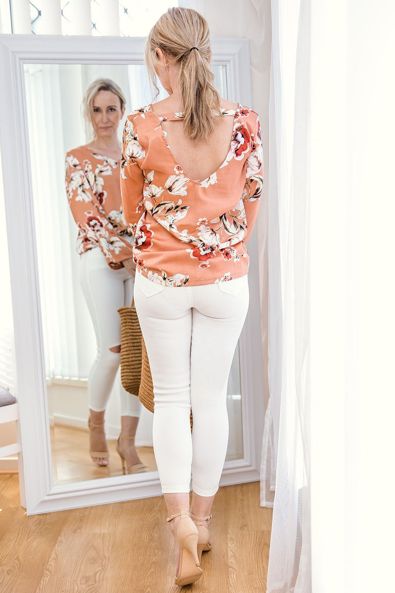 ANA WHITE SKINNY JEANS - Two Sisters Instyle