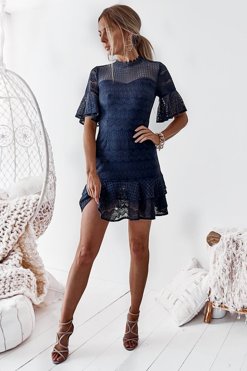 HAMPTONS DRESS - NAVY - Two Sisters Instyle