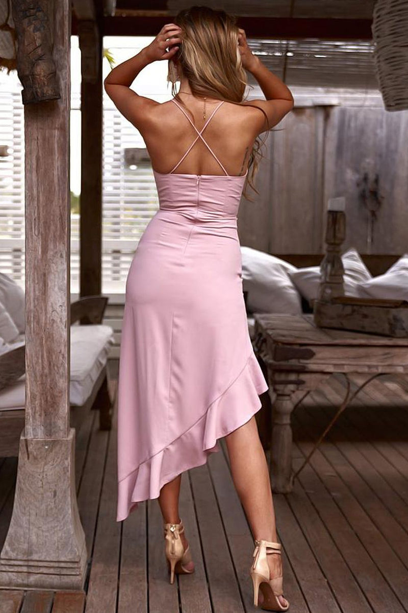 Morgan Dress - Pink - Two Sisters Instyle