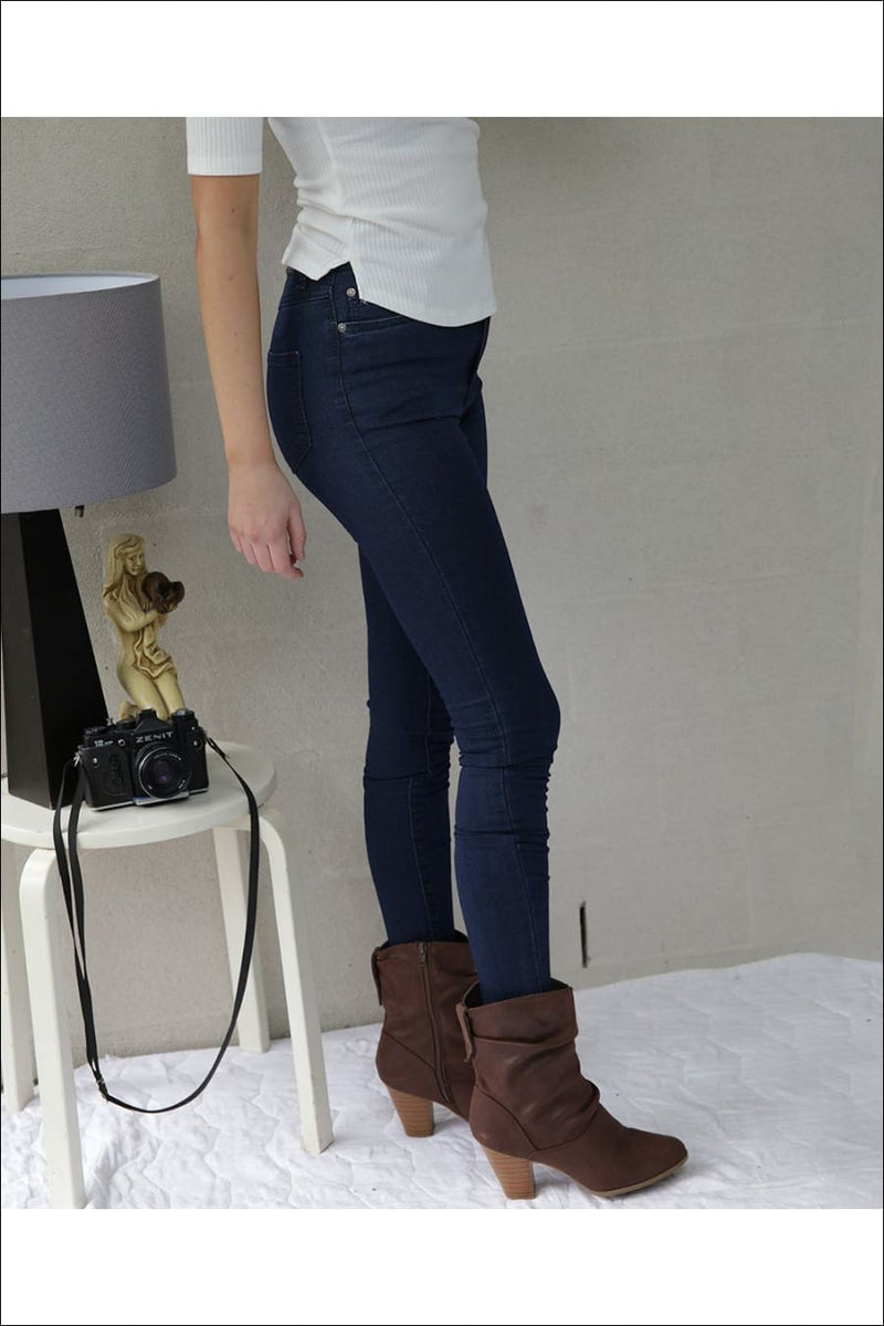 Roselet Skinny Jeans- Navy - Two Sisters Instyle