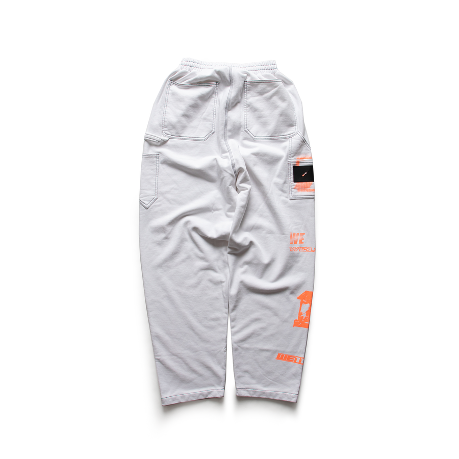 WE11DONE - Logo Carpenter Sweatpants