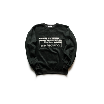 BODYSONG - Young Soul Oversized Crewneck