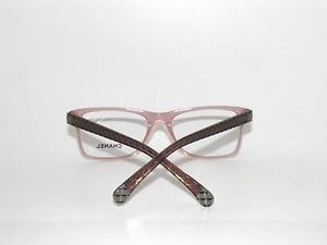 c0019a4b57bc Chanel Optical Eyeglasses 3325 Transparent Pink with Quilt Frame size 52