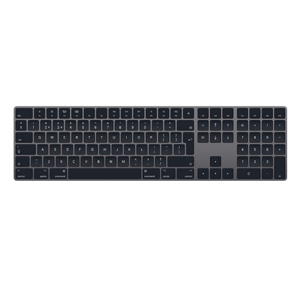 Magic Keyboard with Numeric Keypad - British English | Space Grey