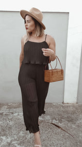 Black Fancy Jumpsuit