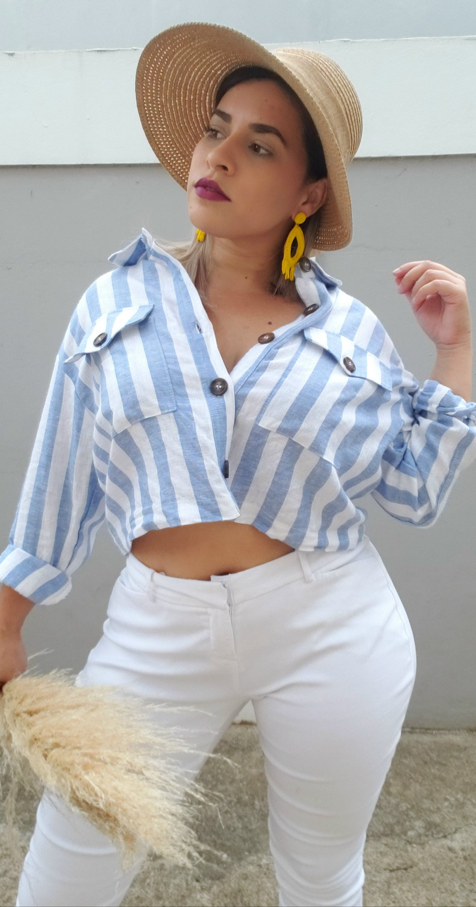 Santorini Stripes Jacket
