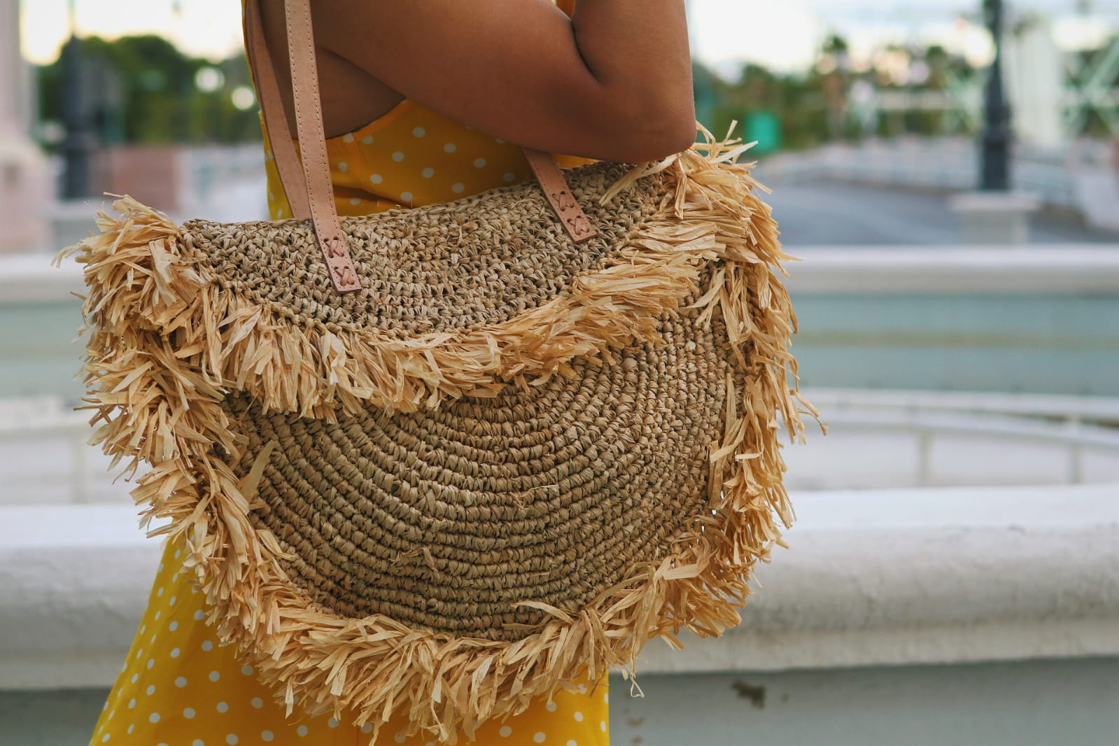 Cartera Rattan Playera