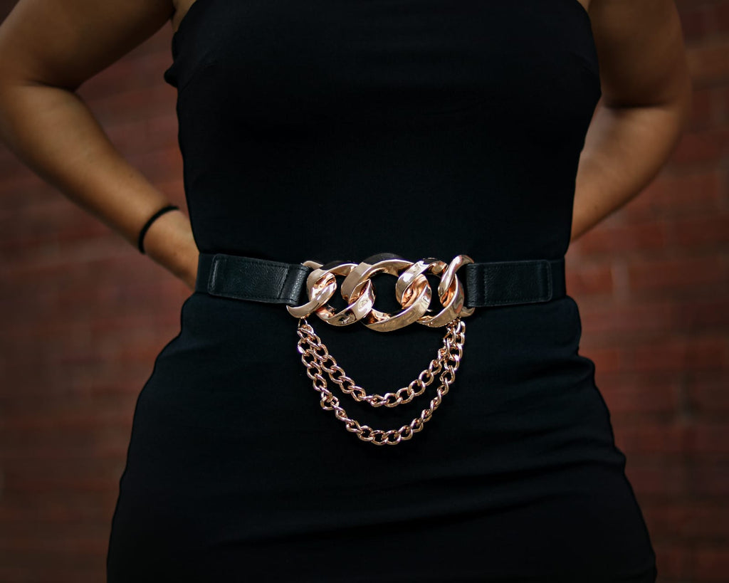 Gold Chains Belt