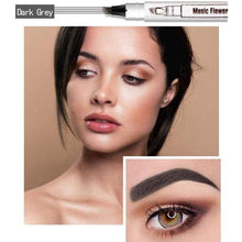 Fine Sketch - The Waterproof Microblading Eyebrow Pen Dark Gray Beauty
