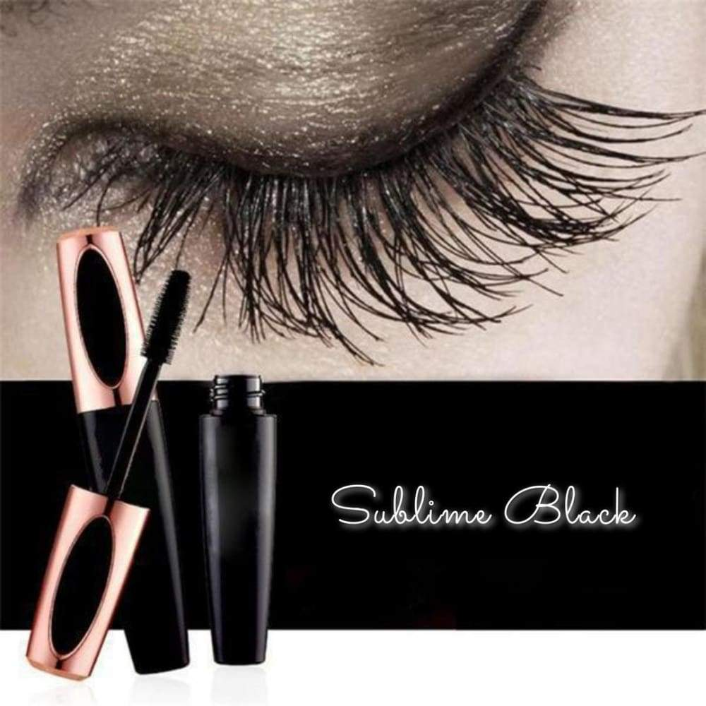 Sublime Black - The Extreme Lengthening 4D Silk Fiber Mascara Mascara
