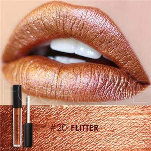 Waterproof Matte Liquid Lipstick Flitter Lip Gloss
