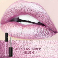 Waterproof Matte Liquid Lipstick Lavender Blush Lip Gloss