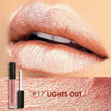 Waterproof Matte Liquid Lipstick Lights Out Lip Gloss