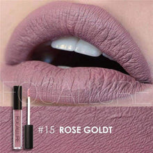 Waterproof Matte Liquid Lipstick Rose Gold Lip Gloss