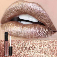 Waterproof Matte Liquid Lipstick Salt Lip Gloss