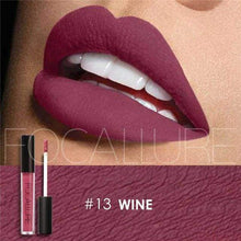 Waterproof Matte Liquid Lipstick Wine Lip Gloss