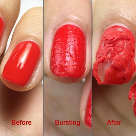 Gel Nail Polish Remover Step by Step
