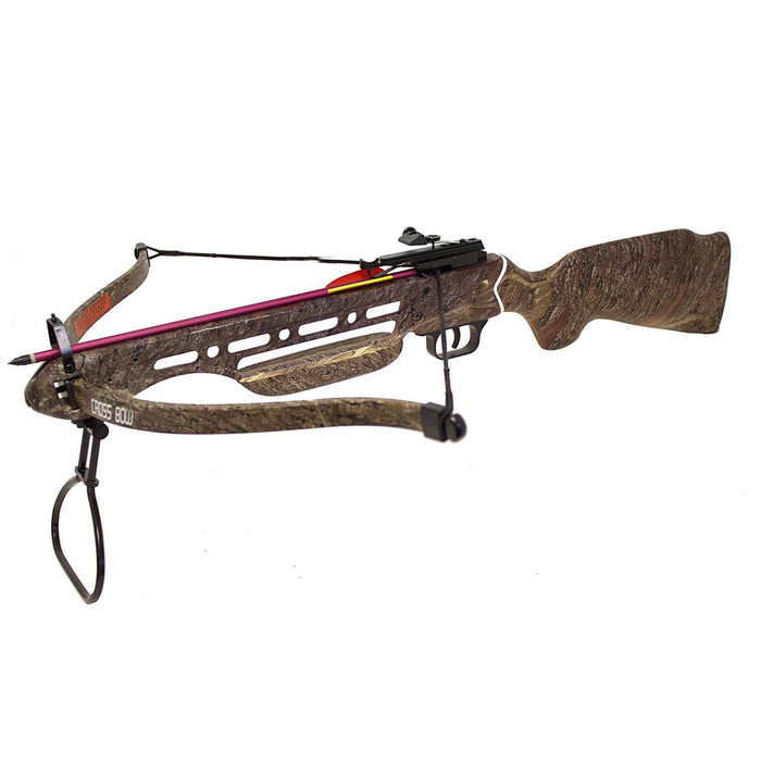 SAS Manticore 150 lbs Recurve Hunting Crossbow with 2 Arrows Deer Turkey